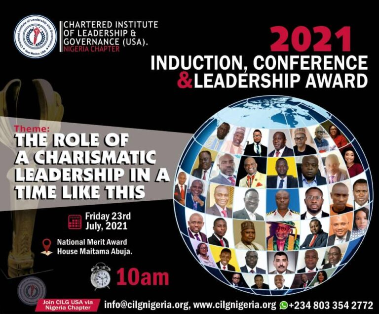 2021 Induction Conference and Leadership Award
